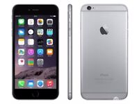 Iphone 6 space grey 128GB unlocked in good condition