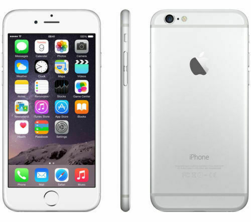 Apple iPhone 6 16GB Silver Unlocked A1549 16GB SILVER