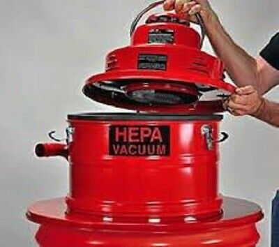 Pullman Holt Hepa Vacuum 55gal Drum Adapter W Tools B160446 Drum Not Included