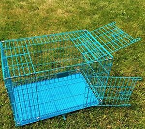 """NEW! 35"""" Versatile CRATE/KENNEL dogs rabbits pets TOP/SIDE OPENS"""