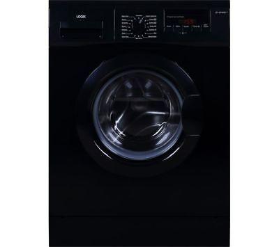 LOGIK L814WMB17 8 kg 1400 Spin Washing Machine - Black