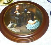 Norman Rockwell Framed Plates