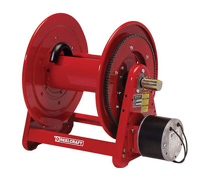 NEW - REELCRAFT ELECTRIC MOTOR DRIVEN HOSE REEL SEALCOATING