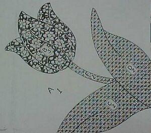 Patterns & Designs - Tulip Applique - Quilt And Sew Shop