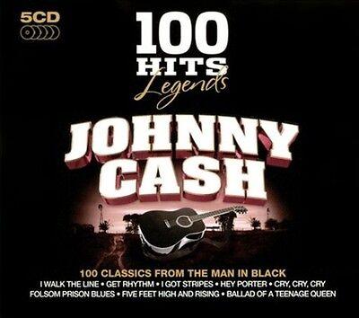Johnny Cash   100 Hits Legends  Johnny Cash New Cd