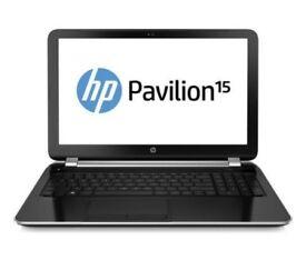 HP Pavilion 15-n083SA 15.6'' 8GB RAM, 1TB 2.0GHz 4M Cashe, Windows 10 in Precinct Condition