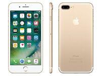 IPHONE 7 PLUS 32GB UNBOXED UNLOCKED 32GB GOLD