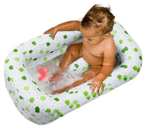Inflatable Baby Toddler Bath Tub by Mommy