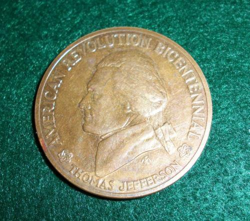 American Revolution Bicentennial Commemorative Medal Ebay