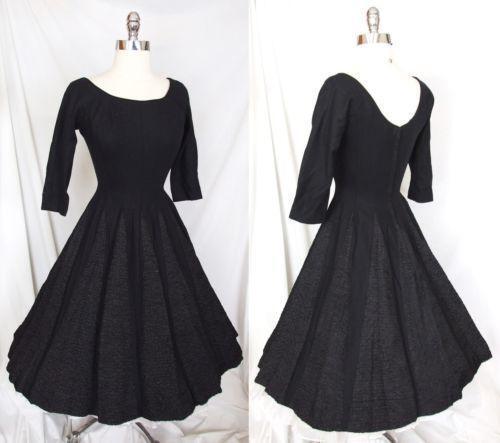 Vintage 1950s wedding dress ebay for Ebay vintage wedding dress