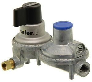 Propane double stage auto changeover regulator (new)