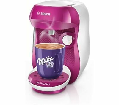 Bosch TASSIMO Happy TAS1001GB Coffee Machine Purple  BRAND NEW damaged box