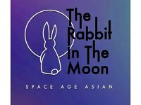 "Part-time/full time waiting staff needed for new modern restaurant ""The rabbit in the moon"""