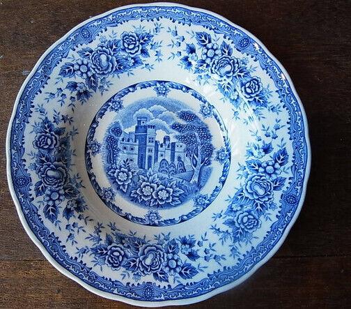 Blue dish plate around 13cm #2