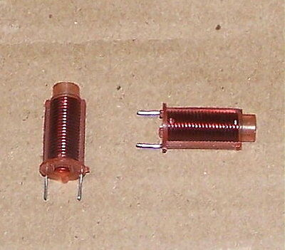 0.95-1.3uh Variable Rf Coil Inductor Vintage Pc Mount Radio - Tv Part 1uh Avg.