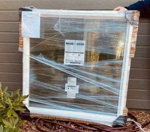 """Pella 250 Series Fixed Frame Window 46.5"""" x 46.5"""" `New Wrapped"""