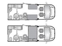 2008 BESSACARR E540 MOTORHOME FIAT DUCATO 2.3 DIESEL 6 SPEED MANUAL GEARBOX 130