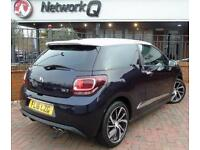 2016 Citroen DS3 1.6 BlueHDi 120 Prestige 3 door Diesel Hatchback