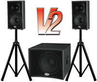 "Matrix-1000V2 700-watt Active Speaker System - 15"" Subwoofer"