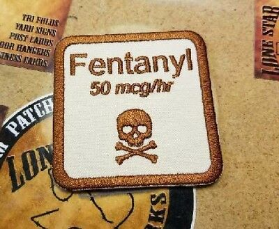 Adult Humor Embroidered Fentanyl Patch
