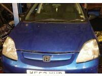Honda Civic Bonnet In Blue (2002)