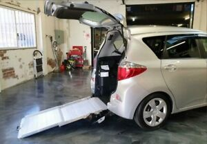 2011 Toyota Ractis Silver Constant Variable Wagon Perth Perth City Area Preview