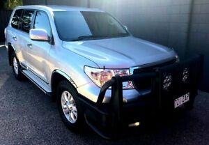 2013 Toyota Landcruiser GXL Silver Automatic Wagon Mackay Mackay City Preview