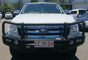 2012 Ford Ranger PX XLT Double Cab White 6 Speed Manual Utility Berrimah Darwin City Preview