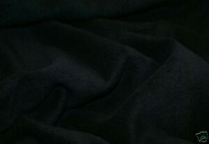 60-Inch-Width-Black-Polar-Fleece-Material-Fabric-Soft-And-Washable