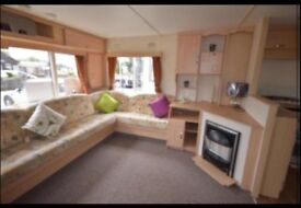 Static mobile home to let - 2 bed on Lakeside Holiday park, Chichester