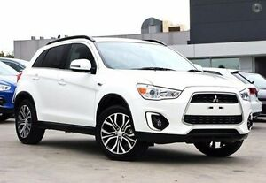 2016 Mitsubishi ASX XB MY15.5 LS 2WD White 6 Speed Constant Variable Wagon Nunawading Whitehorse Area Preview