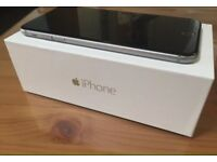 Factory Unlocked iPhone 6 Plus black/space grey /// 64GB\\\ pristine condition fully boxed