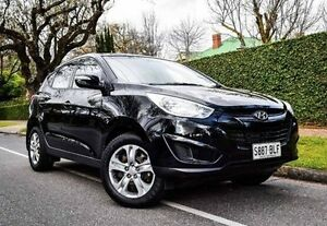 2013 Hyundai ix35 LM2 Active Black 6 Speed Sports Automatic Wagon Medindie Walkerville Area Preview
