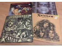Jethro Tull/ Rainbow/ Free & Easy/ Emerson, Lake & Palmer Records
