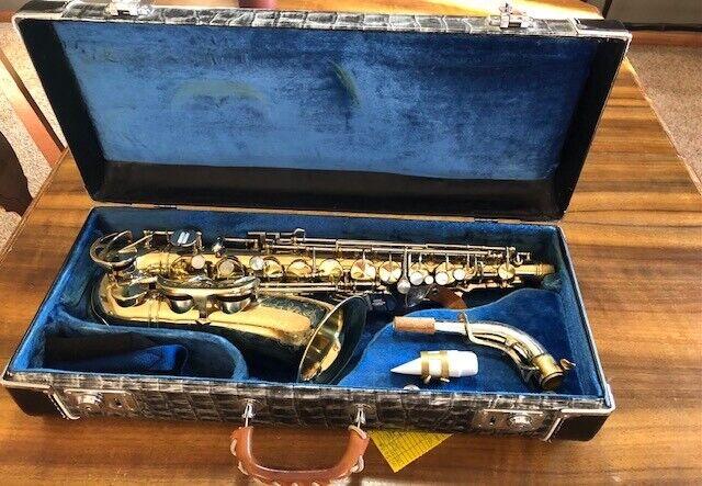 King Super 20 Alto Saxophone 100% Original