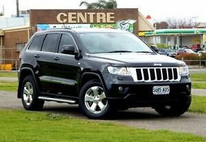 2012 Jeep Grand Cherokee WK MY2012 Laredo Black 5 Speed Sports Automatic Wagon Christies Beach Morphett Vale Area Preview