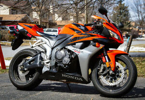 Super Mint 2008 Honda CBR 600RR Orange