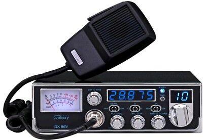 Galaxy DX86V 10 Meter Amateur Ham Mobile Radio AM SSB PA Dual Mosfet Finals New ()