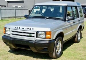 2001 Land Rover Discovery TD5 (4x4) Indus Silver 4 Speed Automatic 4x4 Wagon Maitland Maitland Area Preview