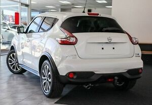 2015 Nissan Juke F15 Series 2 Ti-S X-tronic AWD White 1 Speed Constant Variable Hatchback Victoria Park Victoria Park Area Preview