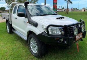 2015 Toyota Hilux KUN26R MY14 SR5 Xtra Cab White 5 Speed Manual Utility Berrimah Darwin City Preview