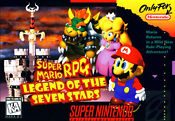 Mario RPG SNES Box