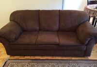 Sofa set 3 pieces - sell separately as well
