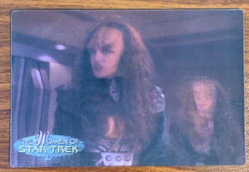 "2000 Rittenhouse Women of Star Trek in Motion #22 Lursa & B""Etor Free Shipping"
