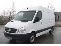 Man and van hire for house move, removal service for full & single item , short notice availibility