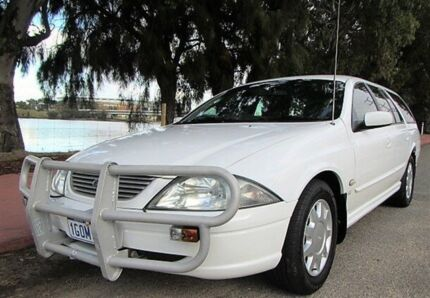 2002 Ford Falcon Auiii Forte (LPG) 6 Seater 4 Speed Automatic Wagon Mount Lawley Stirling Area Preview