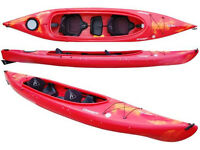 Double kayak: Dagger Blackwater 13.5 Tandem - used but in very good condition
