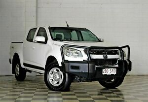 2012 Holden Colorado RG LX (4x4) White 6 Speed Automatic Crewcab Burleigh Heads Gold Coast South Preview
