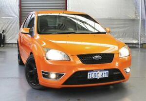 2007 Ford Focus LT XR5 Turbo Orange 6 Speed Manual Hatchback Myaree Melville Area Preview