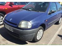 Renault Clio 1.2 Blue FSH 3 Months MOT Drives very Good £350